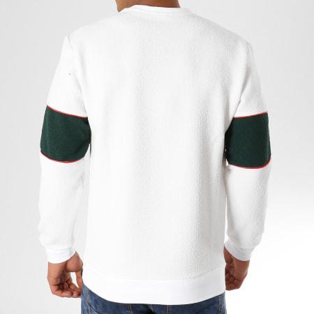 Uniplay - Sweat Crewneck A7184U Blanc Vert