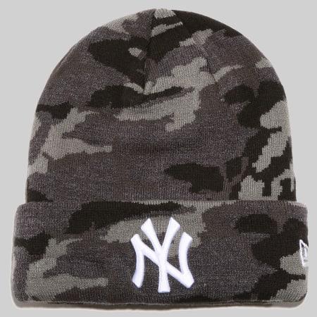 New Era - Bonnet New York Yankees 80635846 Gris Anthracite Camouflage