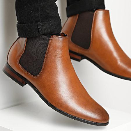 Classic Series - Chelsea Boots UB8888-2 Cognac