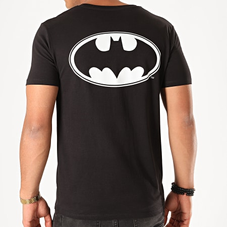 Batman - Tee Shirt Back Logo Noir