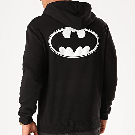 Batman - Sweat Capuche Back Logo Noir