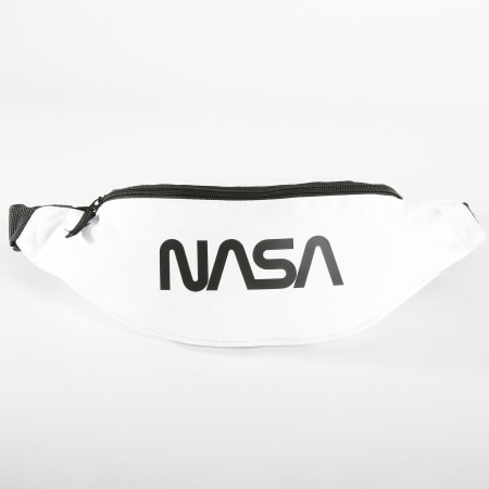 NASA - Sacoche Banane Worm Logo Blanc