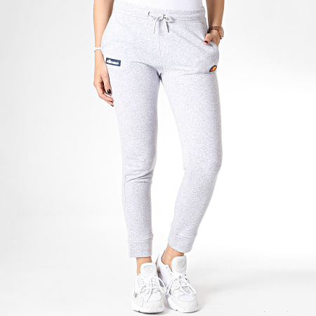 Ellesse Pantalon Jogging Femme Fit Gris Chiné