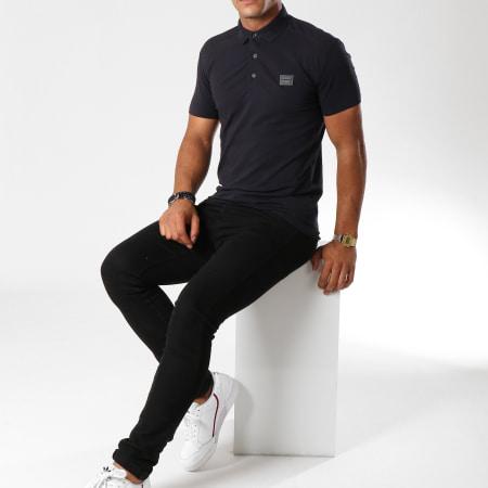 Antony Morato - Polo Manches Courtes MMKS01419 Bleu Marine