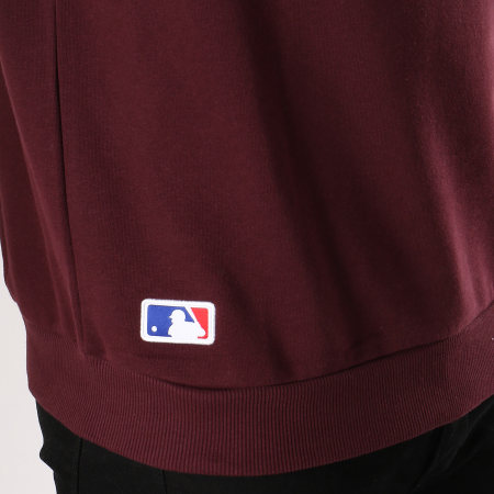 New Era - Sweat Crewneck Team Logo New York Yankees 11863703 Bordeaux