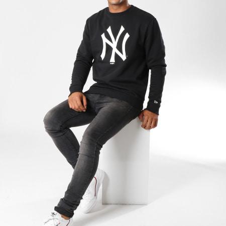 New Era - Sweat Crewneck Team Logo New York Yankees 11863705 Noir