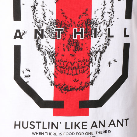 Anthill - Tee Shirt Hustlin' Blanc