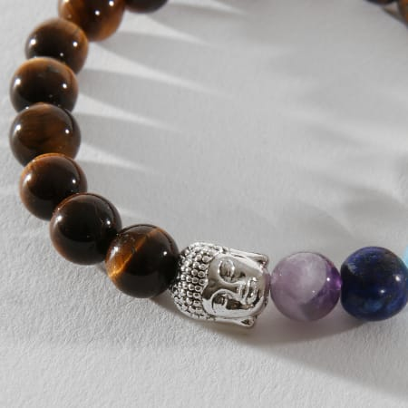 California Jewels - Bracelet B900 Marron