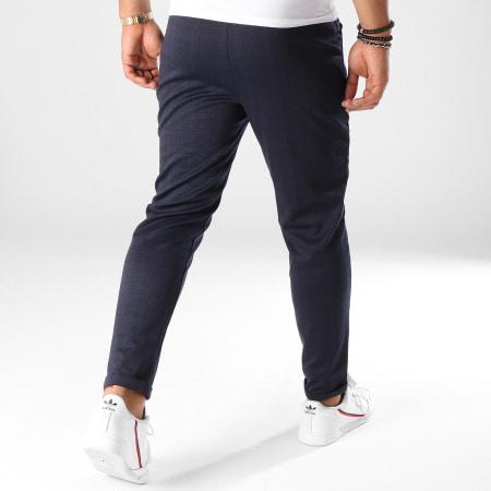 Frilivin - Pantalon A Carreaux 1405 Bleu Marine