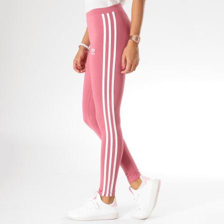 adidas - Legging Femme 3 Stripes DH3167 Rose ...