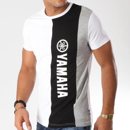 Yamaha - Tee Shirt Best Blanc Noir Gris Chiné