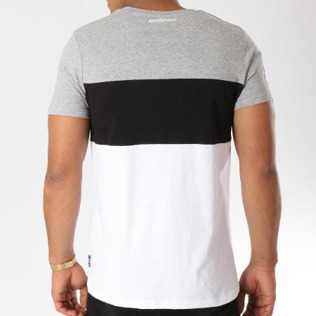 Yamaha - Tee Shirt Tape Blanc Noir Gris Chiné