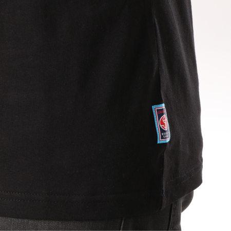 Yamaha - Tee Shirt Tape Noir Gris Chiné Blanc
