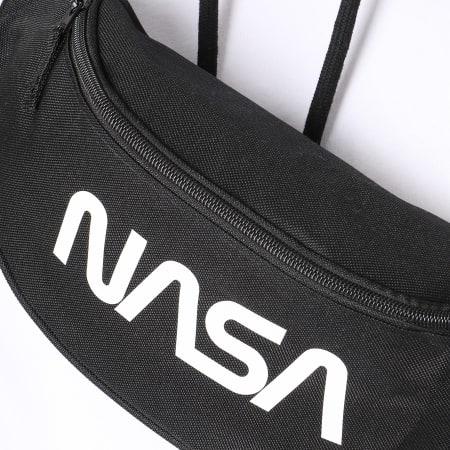 NASA - Sacoche Banane Worm Logo Noir