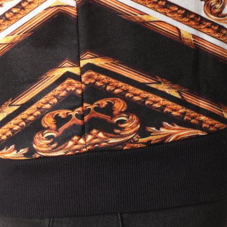 Uniplay - Sweat Crewneck UP-T538 Noir Doré Renaissance