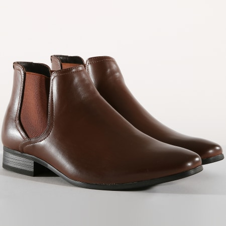 Classic Series - Chelsea Boots GH3142 Brown