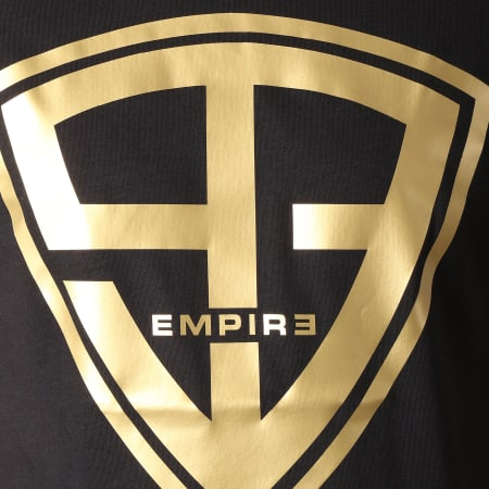 93 Empire - Tee Shirt 93 Empire Noir Or
