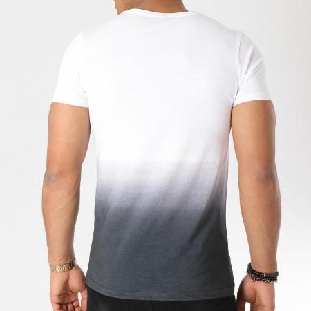 93 Empire - Tee Shirt 93 Empire Dégradé Blanc Noir