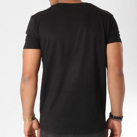 93 Empire - Tee Shirt 93 Empire Noir Orange