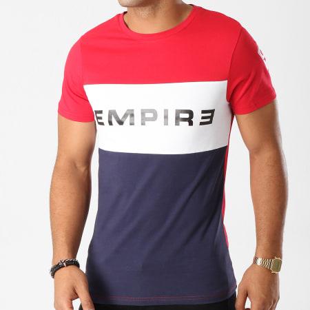 93 Empire - Tee Shirt 93 Empire Tricolore Bleu Marine Blanc Rouge