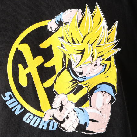Dragon Ball Z - Tee Shirt Goku Super Saiyan Noir