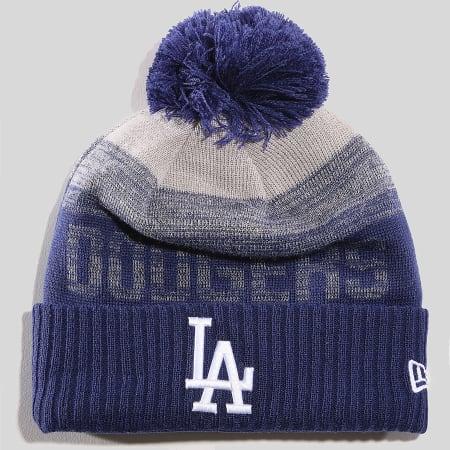 New Era - Bonnet MLB Sport Los Angeles Dodgers 11796967 Bleu Roi Gris