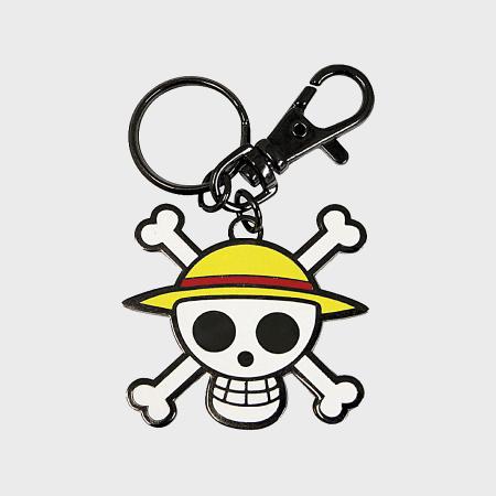 One Piece - Porte Clés Skull Luffy Argenté