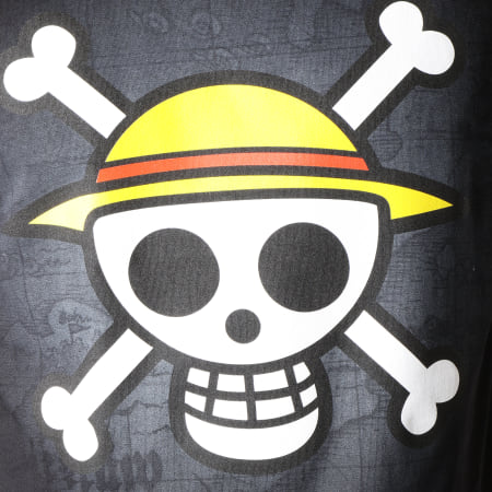 One Piece - Tee Shirt Skull Noir