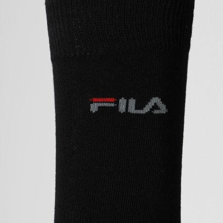 Fila - Lot De 3 Paires De Chaussettes Calza F9630 Noir