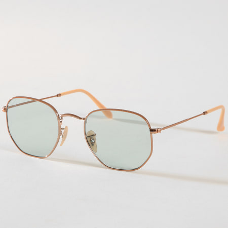 lunettes ray ban hexagonales