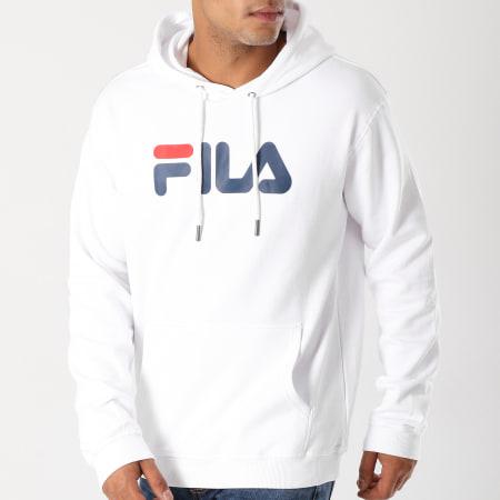 Fila - Sweat Capuche Pure 681090 Blanc