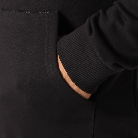 93 Empire - Sweat Capuche 93 Empire Sleeves Noir Blanc