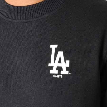 New Era - Sweat Crewneck Team Apparel Los Angeles Dodgers 11788919 Noir
