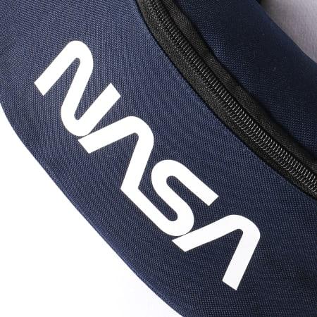 NASA - Sacoche Banane Worm Logo Bleu Marine