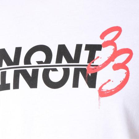 NQNT - Tee Shirt 33 Blanc
