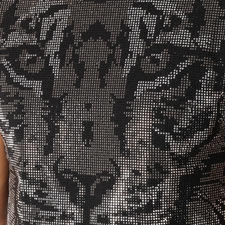 Uniplay - Tee Shirt ZS005 Noir Argenté