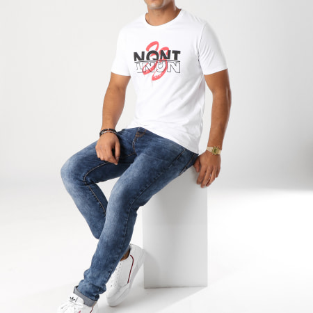 NQNT - Tee Shirt 33 Shadow Blanc