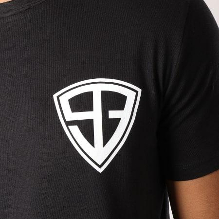 93 Empire - Tee Shirt 93 Empire Dossard Noir Blanc