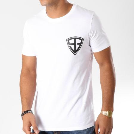 93 Empire - Tee Shirt 93 Empire Dossard Blanc Noir