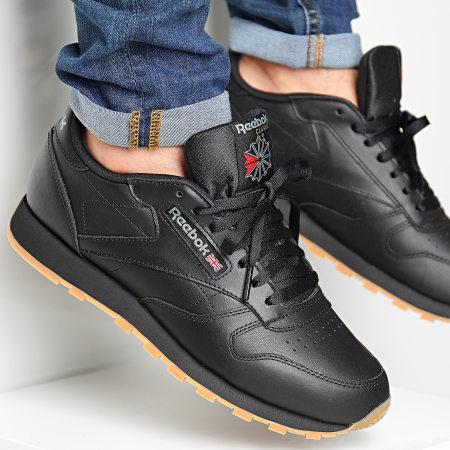 Reebok - Baskets Classic Leather 49800 Black