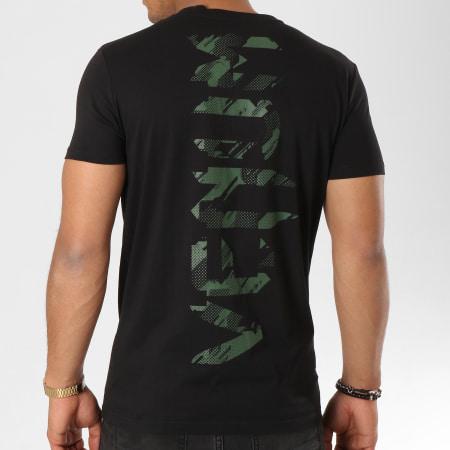 Venum - Tee Shirt Tecmo Giant Noir Vert Kaki