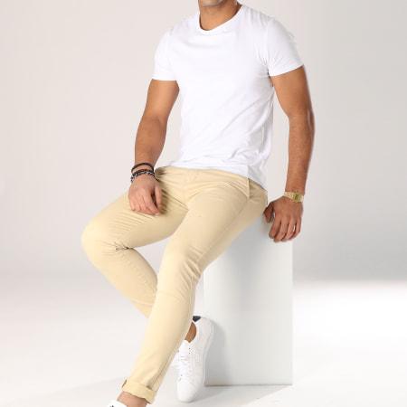 Aarhon - Pantalon Chino ACH003 Beige