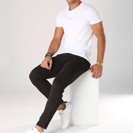 Aarhon - Pantalon Chino ACH001 Noir