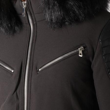 MTX - Blouson Fourrure 806 Noir