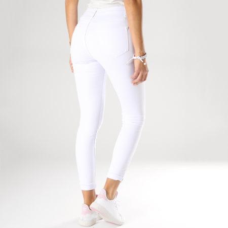 Girls Only - Jean Slim Femme A2001 Blanc