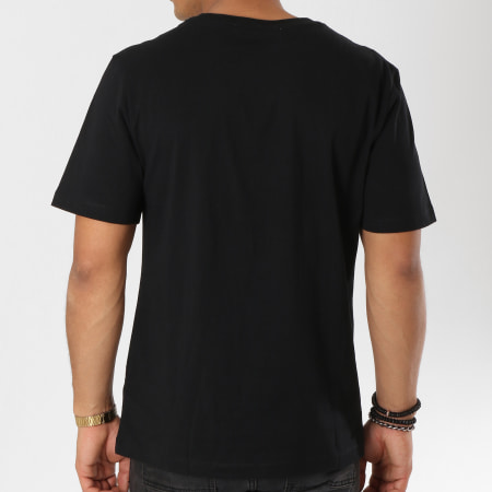 Calvin Klein - Tee Shirt  CKJ Embroidery 0461 Noir