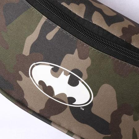 Batman - Sac Banane Logo Camouflage Vert Kaki