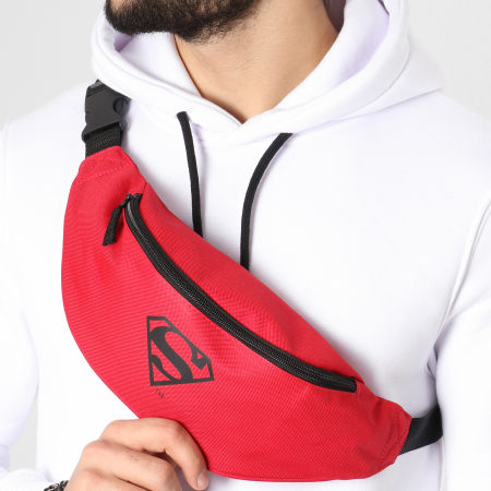 Superman - Sac Banane Logo Rouge