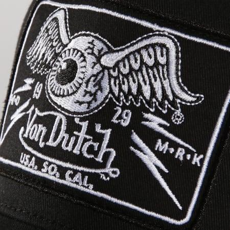 Von Dutch - Casquette Trucker 07 Noir