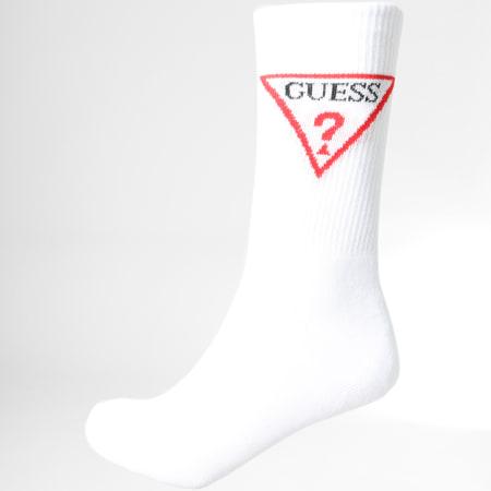 Guess - Paire De Chaussettes U84Y17ZZ001 Blanc
